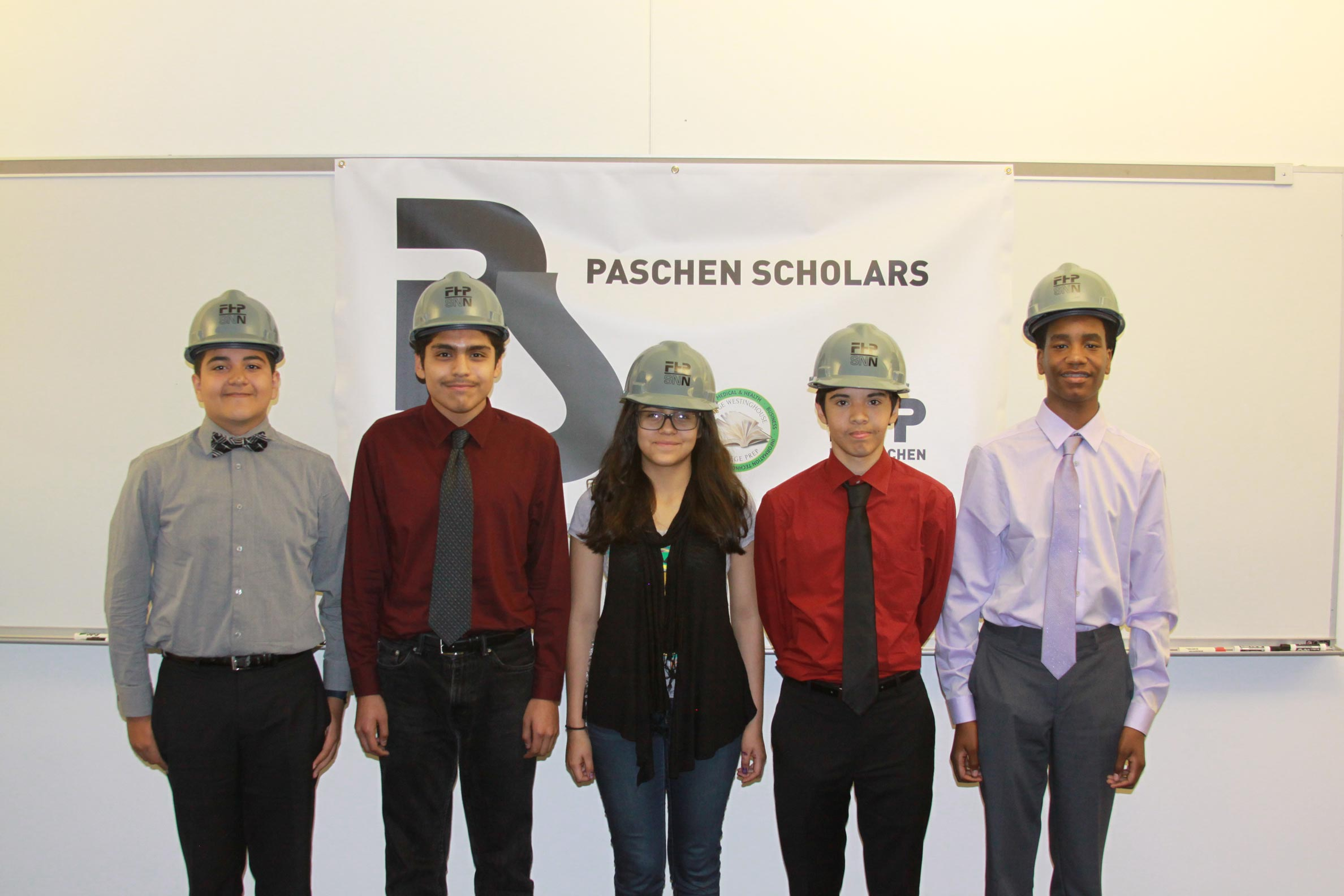 Westinghouse Prep Students Join Construction Internship Program