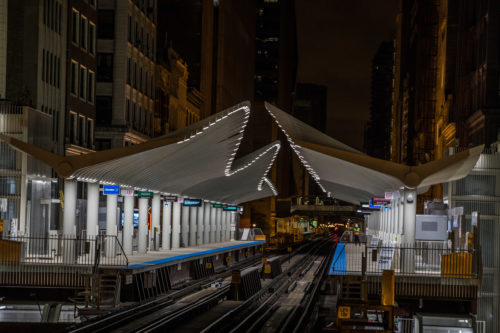 ashington/Wabash Loop Elevated CTA Station