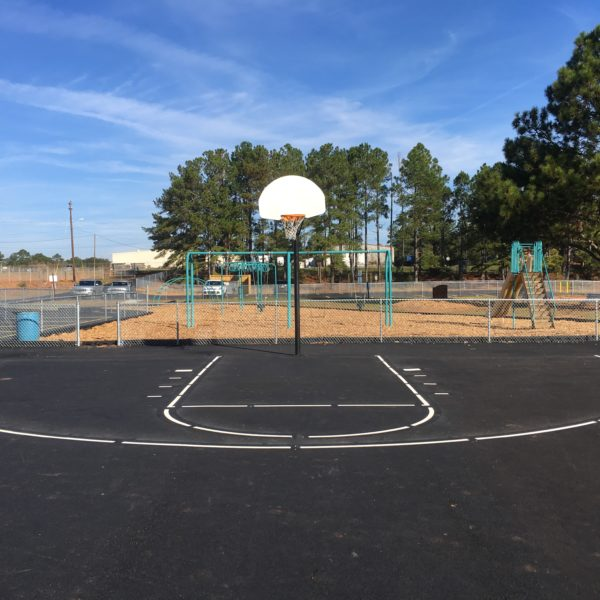 Boone Park basketball court