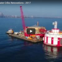 Harrison Dever Water Cribs Aerial Tour