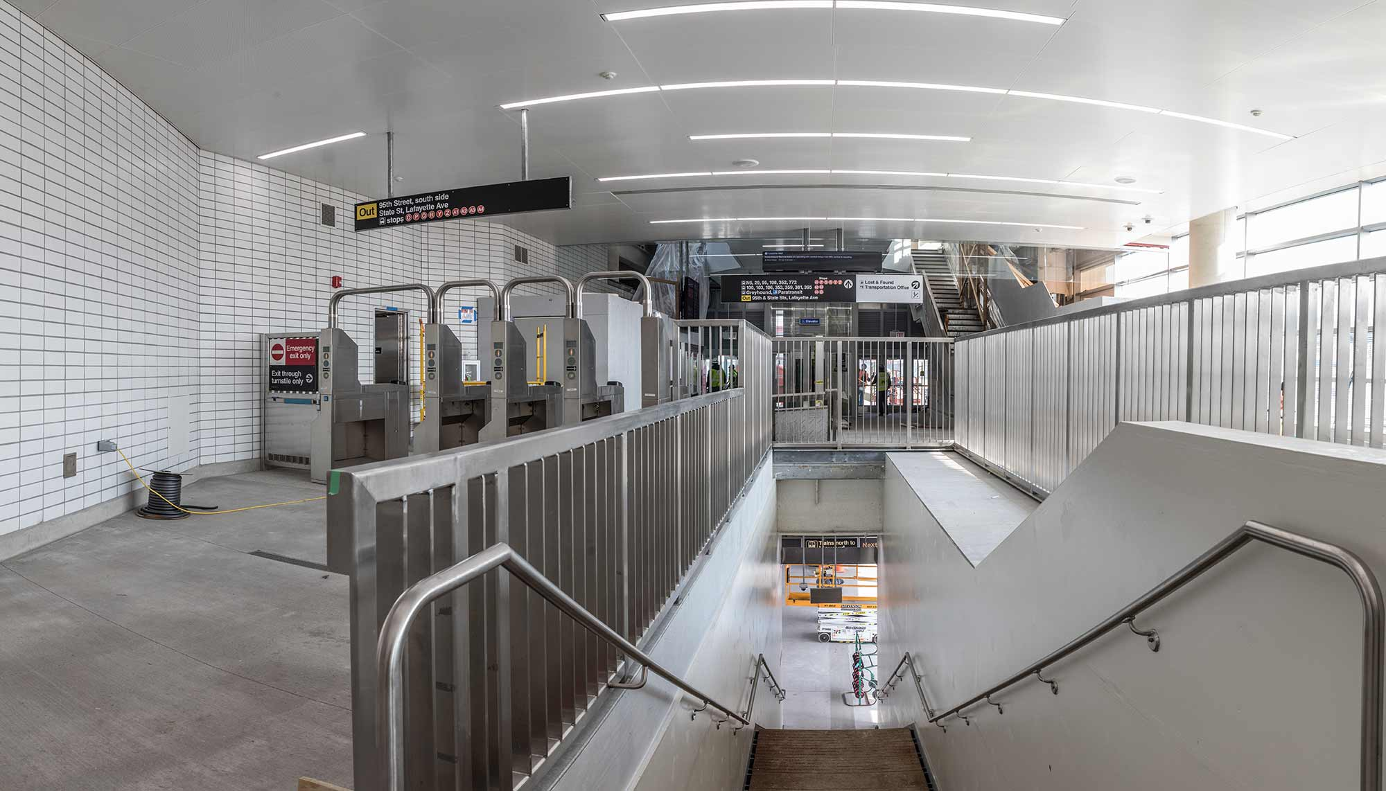 Transit Projects | F H  Paschen Commercial Construction