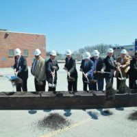 Metra Rock Island Rehab Shop Expansion Groundbreaking